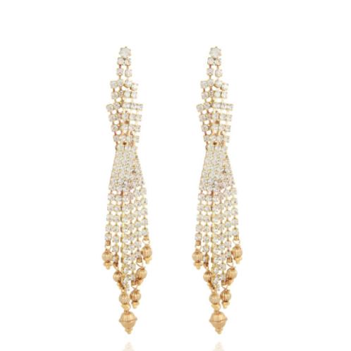 Boucles d'oreilles Sofia strass or GAS bijoux