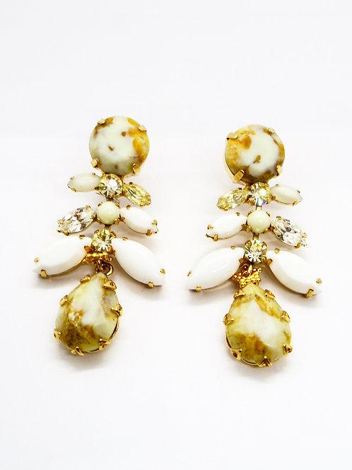 Boucles d'oreilles serties GAS bijoux