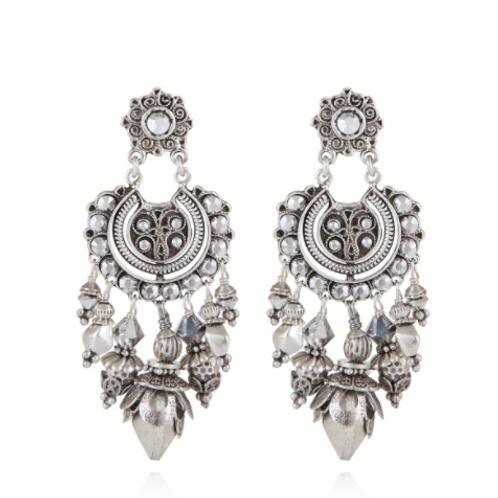 Boucles d'oreilles Aicha petit modèle argent GAS bijoux