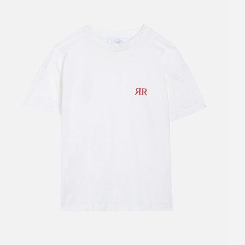 Tee Shirt   Blanc Never RR Roseanna