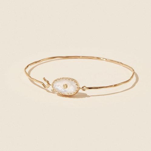 Orso N.1 Moonstone bracelet Pascale Monvoisin