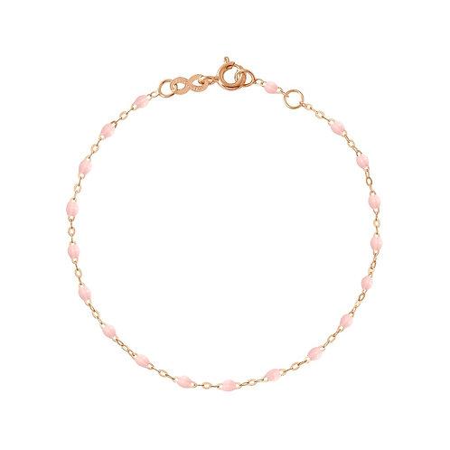 Bracelet rose bébé Classique Gigi Clozeau or rose 17 cm
