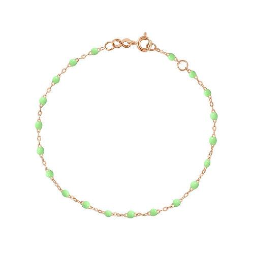 Bracelet anis Classique Gigi Clozeau or rose 17 cm