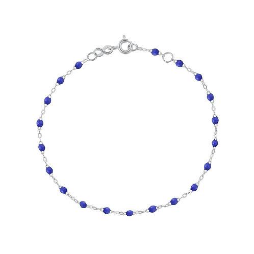 Bracelet bleuet Classique Gigi Clozeau or blanc 17 cm