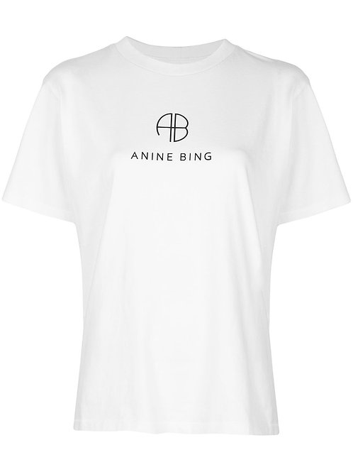 Tee Shirt Hudson White Anine Bing