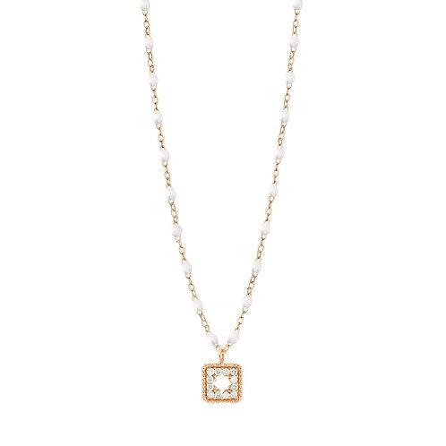 Collier blanc Trésor diamants GIGI CLOZEAU
