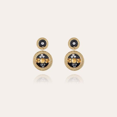 Boucles d'oreilles Sequin or GAS bijoux