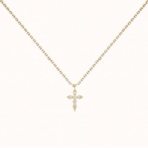 Céleste Collier simple Or Jaune et Diamants STONE PARIS