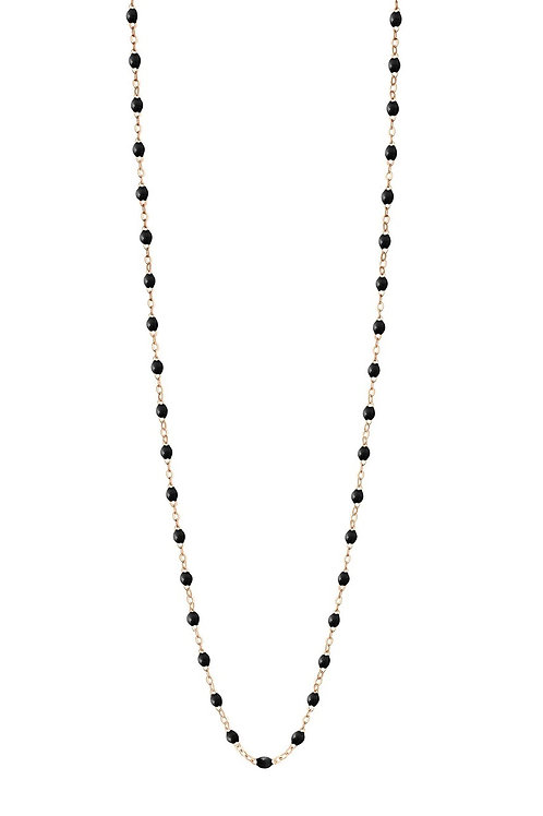 Collier Noir Classique or rose, 60 cm GIGI CLOZEAU