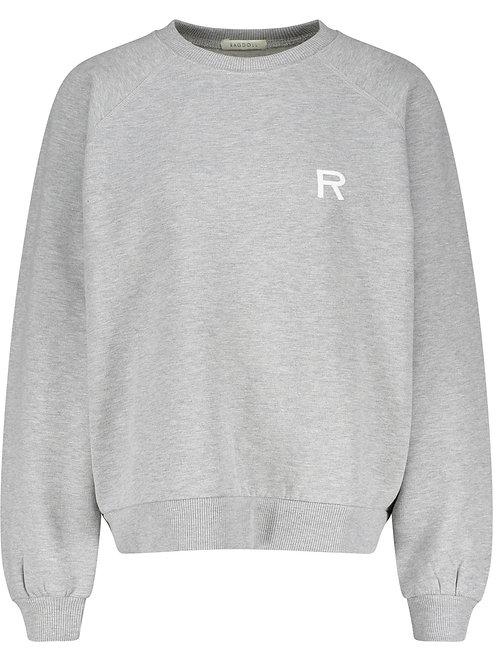 Sweat-shirt oversize Heather Grey RAGDOLL LA