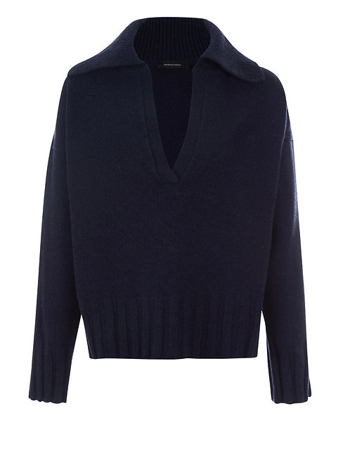 Pull Musa Laine Bleu Marine MADE IN TOMBOY