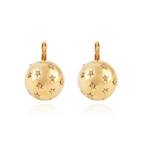 Boucles d'oreilles Comète grand modèle or GAS bijoux