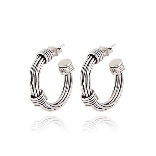 Boucles d'oreilles Ariane mini argentGas Bijoux