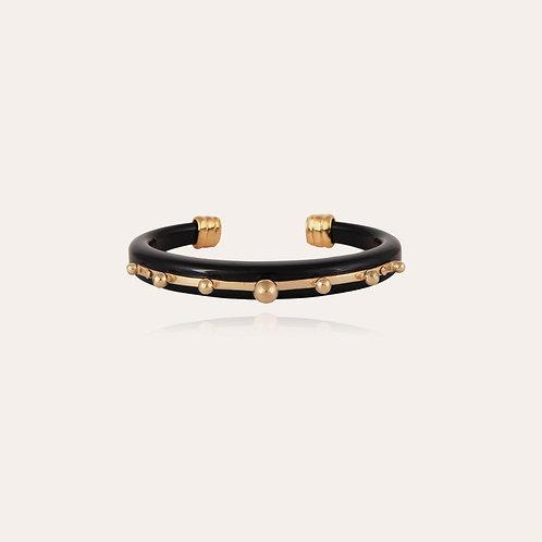 Bracelet Bagheera or Noir GAS BIJOUX