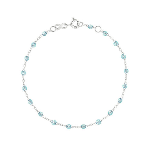 Bracelet ice Classique Gigi Clozeau or blanc 17 cm