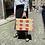 Thumbnail: Iva Rouge et rose rayés ODILE
