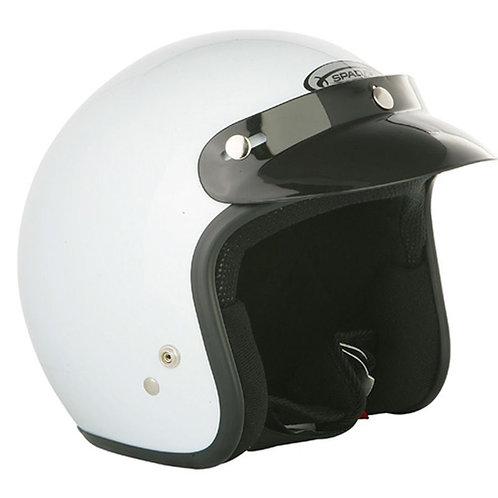 Spada Openface Helmets White
