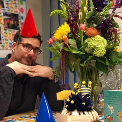 Dr. Moossy & His Flowers