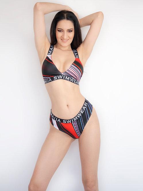 Maia Black Logo Bikini #2