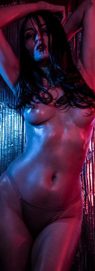 Artistic Nude with Gel Lighting