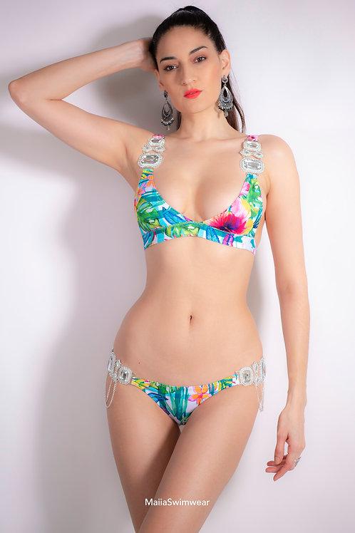 Flower Jewelry Bikini