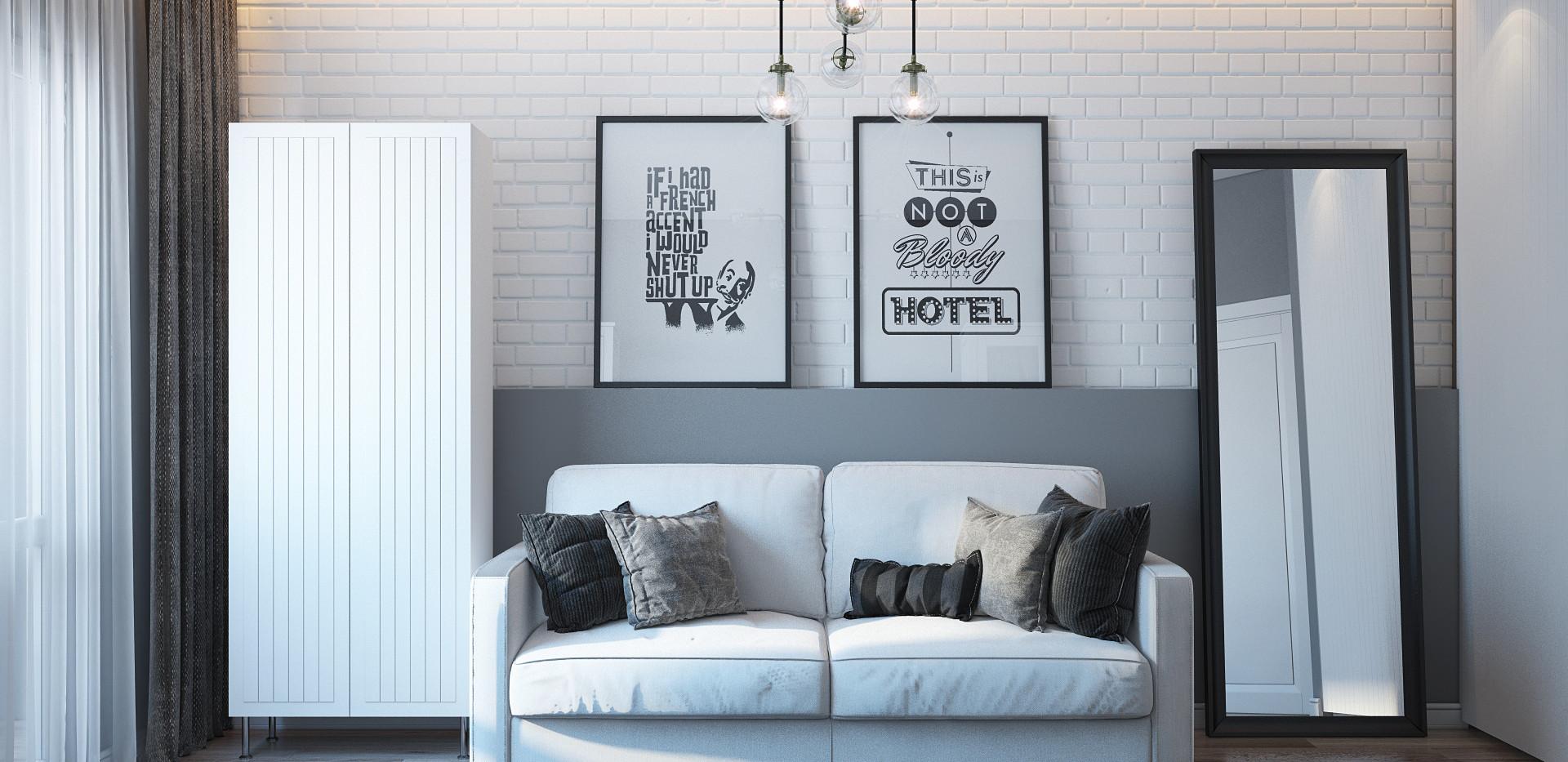 Scandinavian style of room