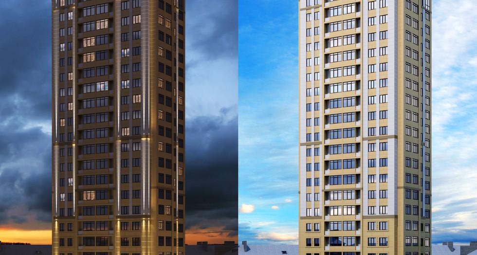 Gorgeous multi-storey complex