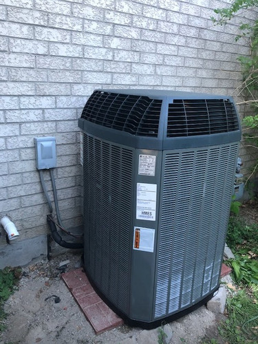 Trane Central Air Conditioner_Green Heat