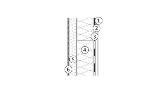 Système compact - ossature bois