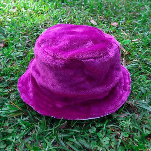 purple fluff/hearts