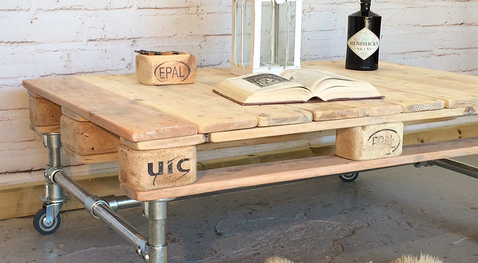 Instructions on how to make coffee table from pallets and for Instructions on how to build a table