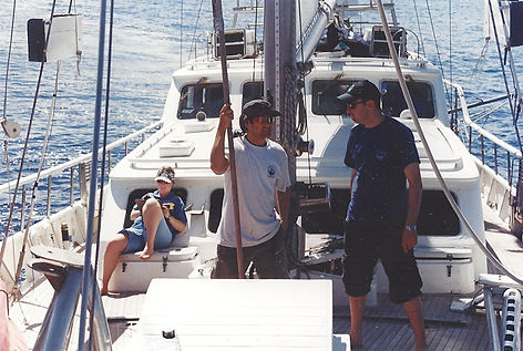 Woody on the Indian Ocean with Ocean Alliance