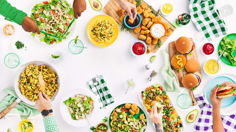 Alpha Foods Dinner Bundle Banner - VEAUU