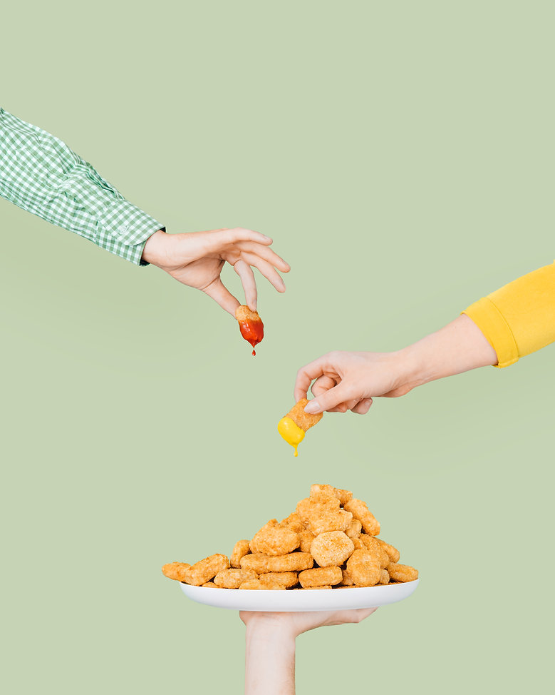 Alpha Foods by VEAUUX - Vegan Nugget Dun