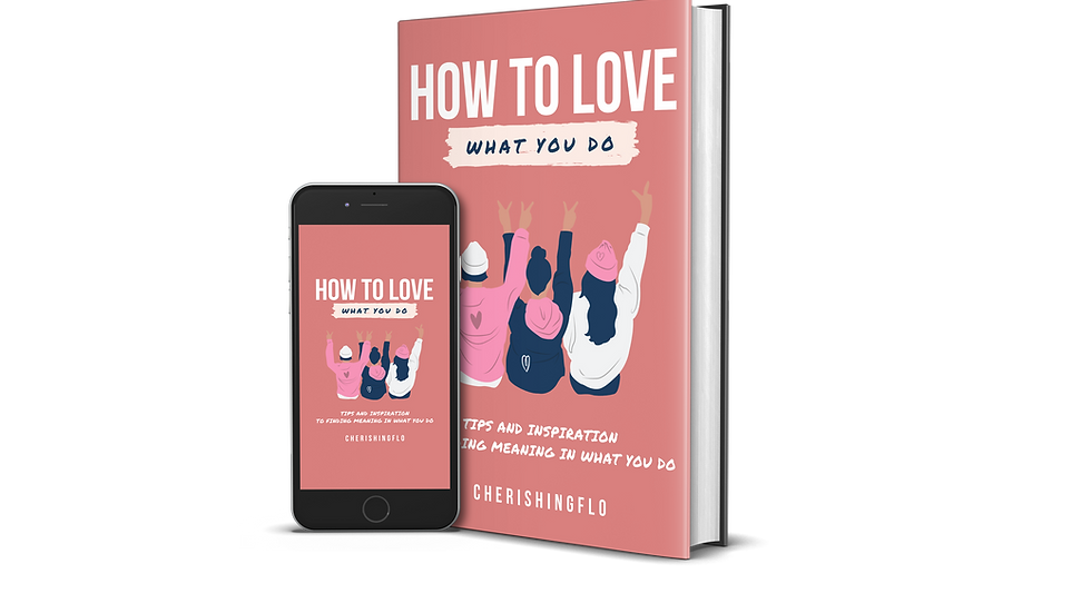 How to Love What You Do E-Book