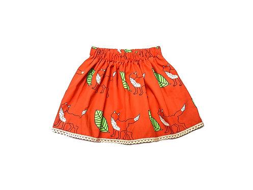 Fox skirt