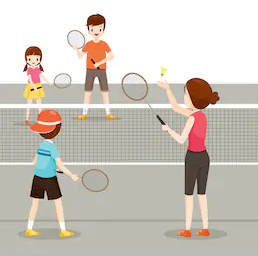 Semaine 09-08 Badminton parent