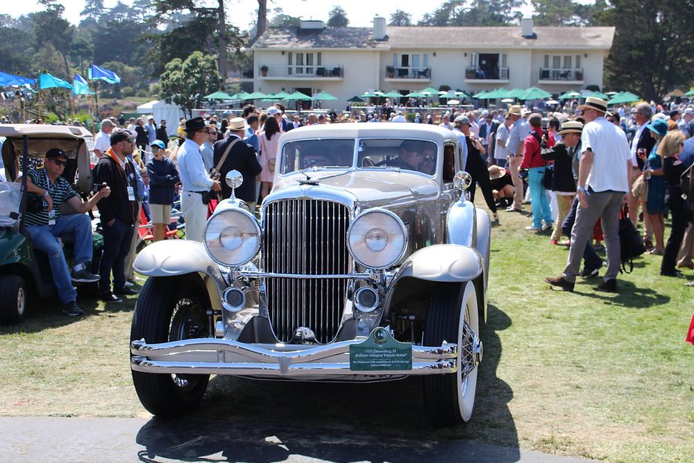 1932 Duesenberg SJ Rollston Arlington Torpedo Sedan