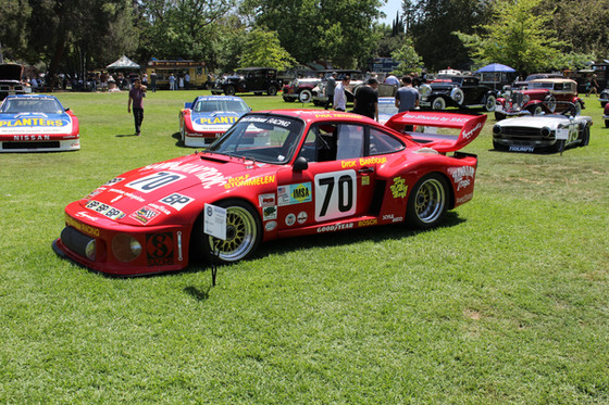 Paul Newman Race Cars at the San Marino Motor Classic