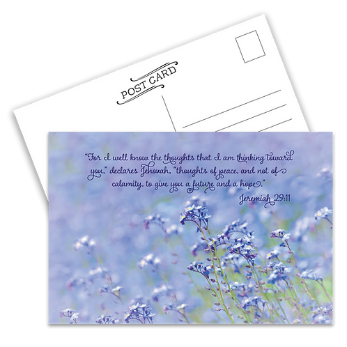 Thoughts of Peace Postcard
