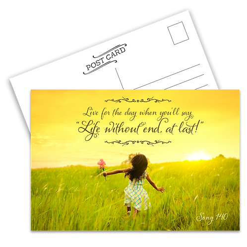 Life Without End Postcard