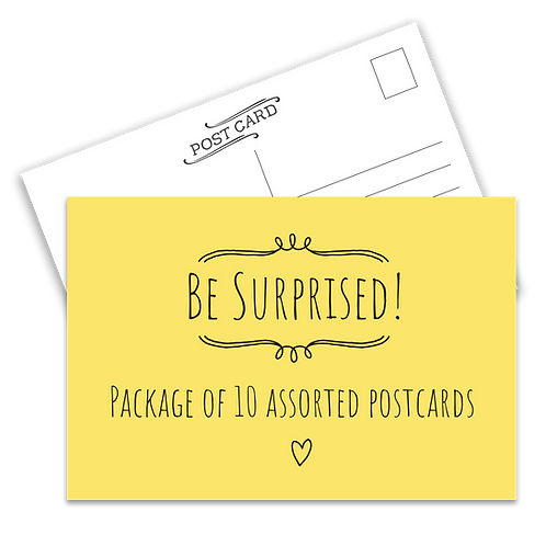 Assorted Postcard Package
