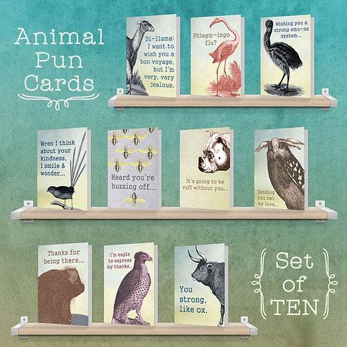 Animal Pun Collection