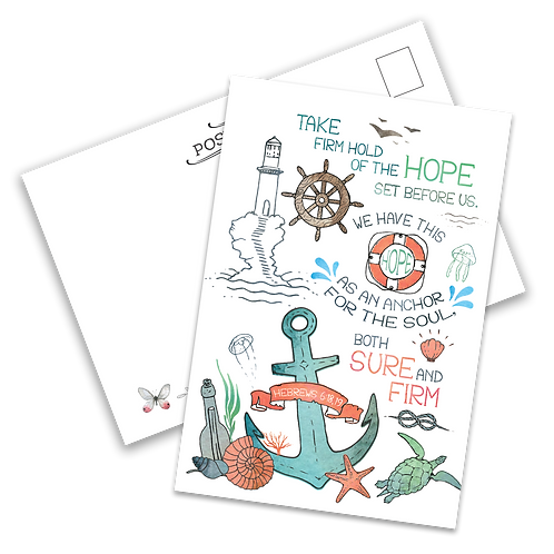 Anchor of Hope Postcard