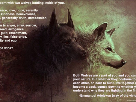 YOUR TWO WOLVES