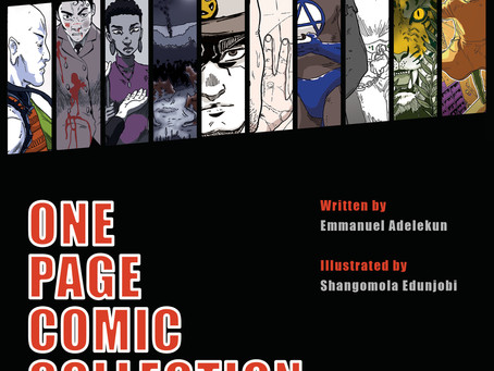 MY COMIC THE ONE PAGE COMIC COLLECTION IS AVAILABLE TO BUY!