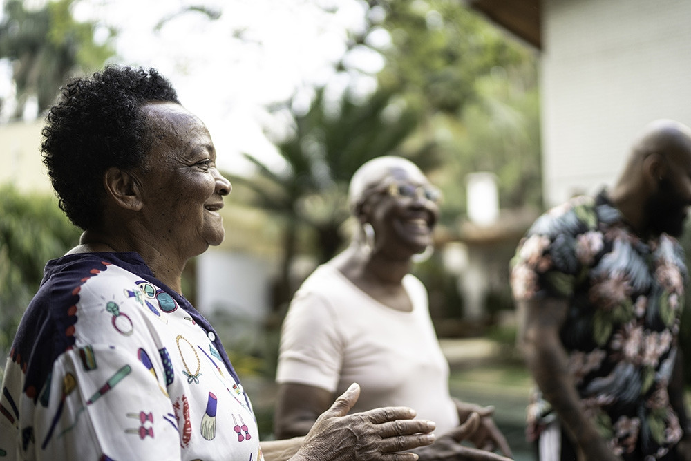 Image of three older people of color.