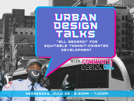 Save the Date - Equitable Transit-Oriented Development