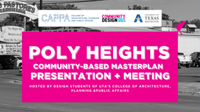 Poly Heights Community-Based Masterplan Presentation + Meeting
