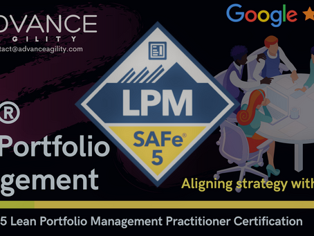 New SAFe Lean Portfolio Management 5.0.X